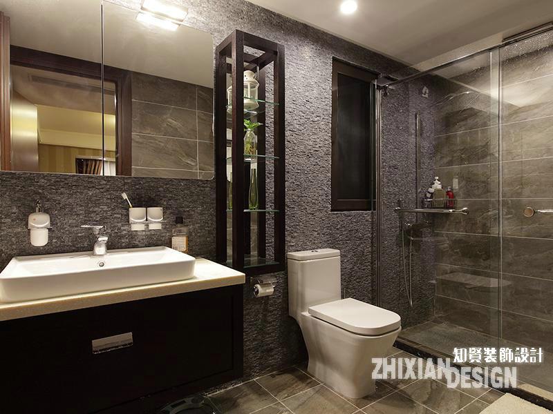 三居 白领 卫生间图片来自上海知贤设计小徐在现代怡居 一所房子里的静好时光的分享