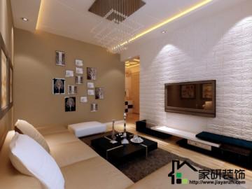阳光绿苑70平两居室现代风格