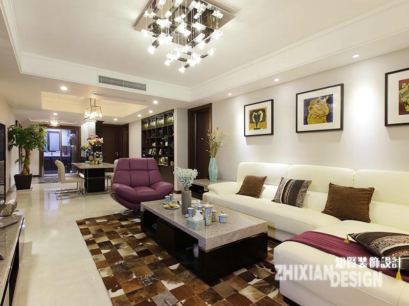 三居 白领 客厅图片来自上海知贤设计小徐在现代怡居 一所房子里的静好时光的分享