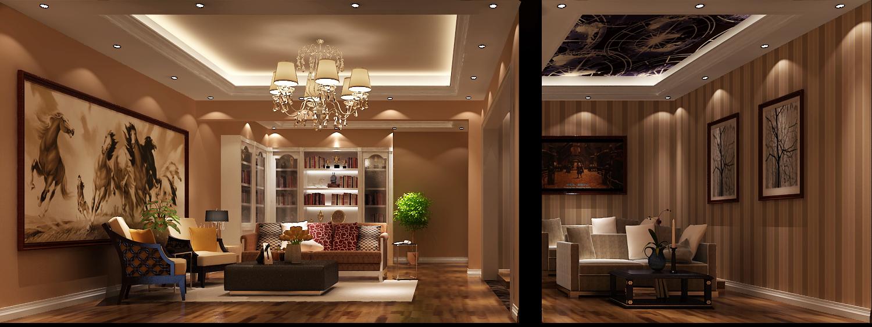 简约 现代 白富美 时尚 高度国际 鲁能7号院 三居 白领 80后 书房图片来自北京高度国际装饰设计在鲁能260平花园洋房的分享