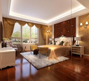 简约 现代 白富美 时尚 高度国际 鲁能7号院 三居 白领 80后 卧室图片来自北京高度国际装饰设计在鲁能260平花园洋房的分享