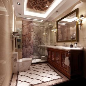 简约 现代 白富美 时尚 高度国际 鲁能7号院 三居 白领 80后 卫生间图片来自北京高度国际装饰设计在鲁能260平花园洋房的分享