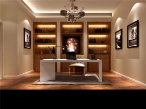 现代 简约 高度国际 白富美 时尚 二居 三居 80后 白领 书房图片来自北京高度国际装饰设计在K2百合湾140平现代公寓的分享