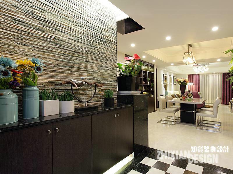 三居 白领 玄关图片来自上海知贤设计小徐在现代怡居 一所房子里的静好时光的分享