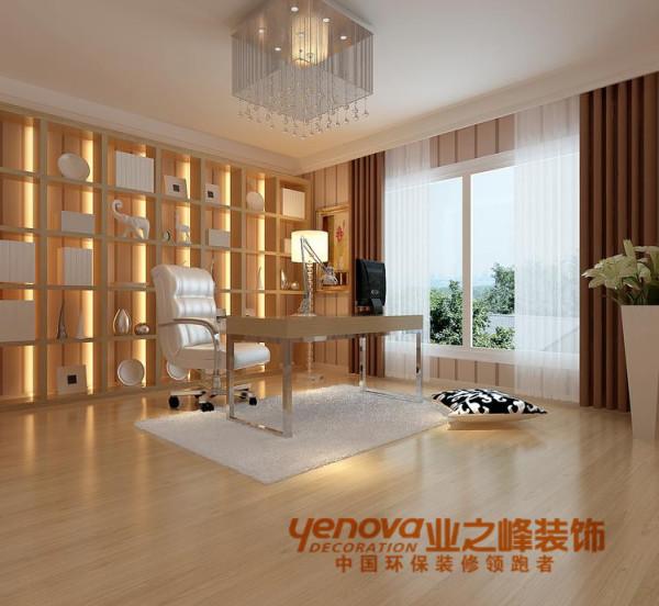 书房135平米现代简约风格装修效果图