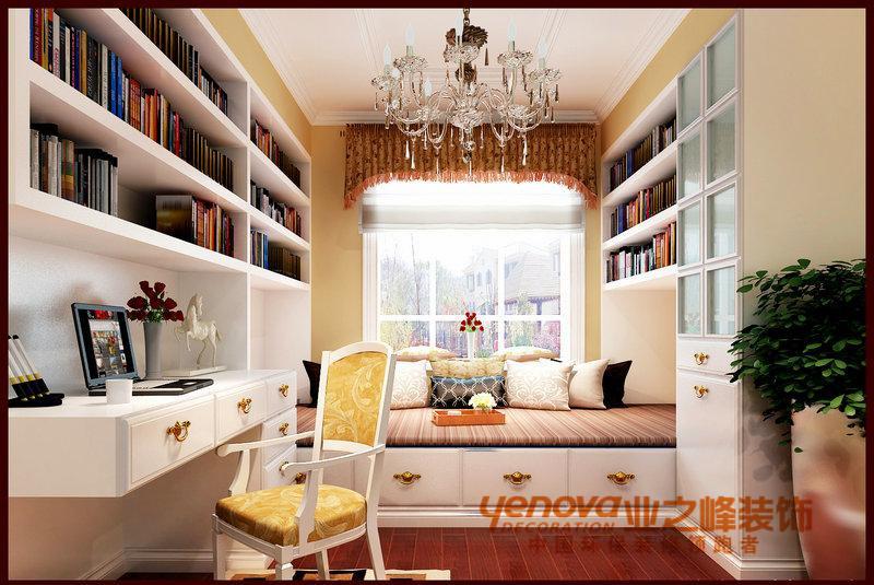 卧室田园风格140平米装修图