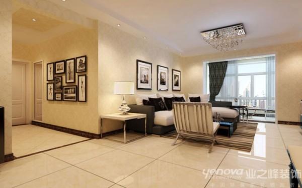 客厅137平米简约风格装修效果图
