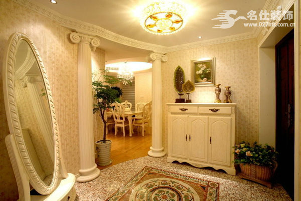 欧美 三居 白领 收纳 旧房改造 80后 小资 餐厅图片来自名仕装饰-小飞在清江山水欧美奢华有大气的分享