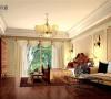名雕丹迪别墅设计-星河丹堤别墅——美式卧室