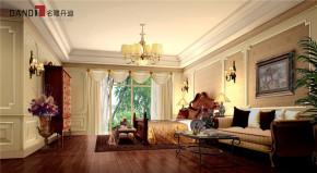 美式 美式别墅 星河丹堤 别墅 名雕丹迪 高富帅 豪宅设计 卧室 美式卧室 卧室图片来自名雕丹迪在美式风格星河丹堤别墅的分享