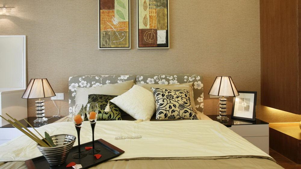 后现代风格 四居室 紫晶城 高度国际 装修设计 卧室图片来自高度国际装饰宋增会在紫晶城 四居室 后现代风格的分享