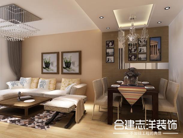 简约 合建装饰 小资 新中式 餐厅图片来自北京合建装饰在国风美唐的简约风的分享