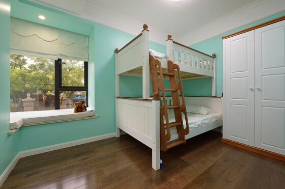 儿童房图片来自佰辰生活装饰在120舒适宜人美式简约3居的分享