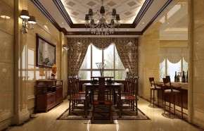 简约 混搭 别墅 白领 80后 白富美 时尚 高度国际 西山壹号院 餐厅图片来自北京高度国际装饰设计在10万打造西山壹号院完美婚房的分享