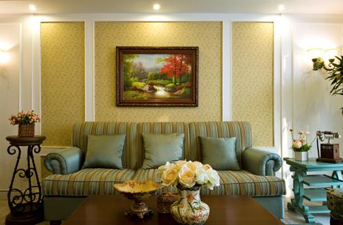 别墅公司 别墅设计 别墅装修 客厅图片来自天津别墅装修在团泊胡光耀城的分享