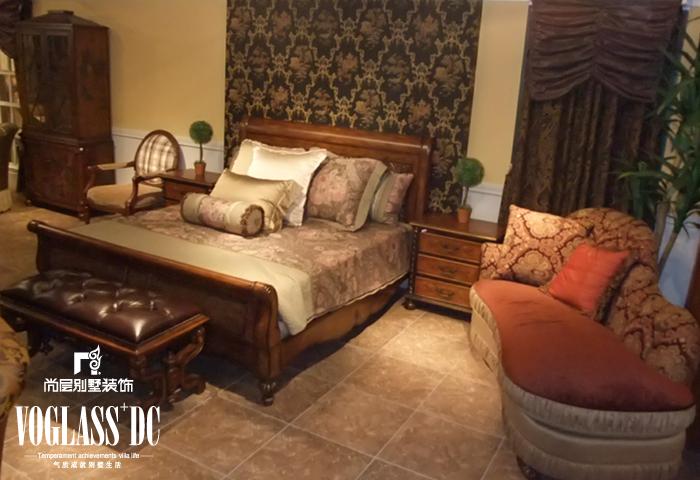 别墅装修 别墅设计 别墅公司 卧室图片来自天津别墅装修在新汇华庭的分享