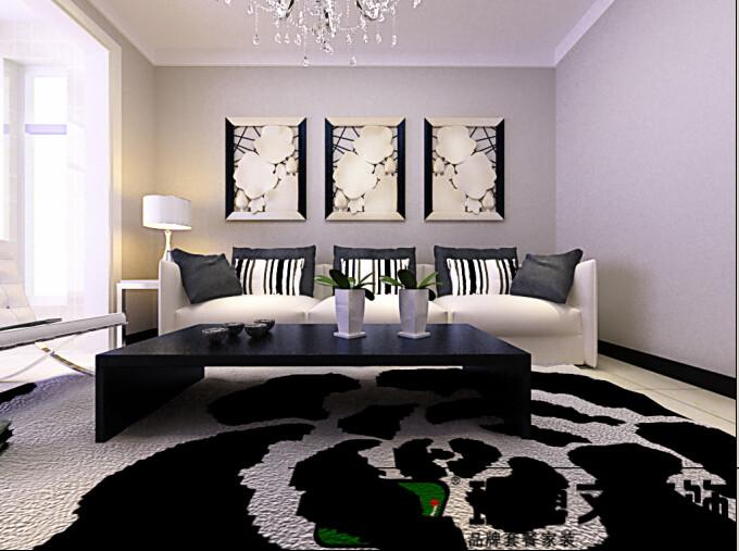 石家庄 瑞博文装饰 水墨紫庭 三室 现代简约 80后 客厅图片来自石家庄瑞博文装饰---伊然在石家庄瑞博文,水墨紫庭三室现代的分享