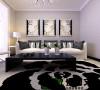 墙面用温馨的灰色,再用石膏线过度和顶面区分。使空间层次分明。