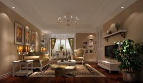 简约 田园 三居 白领 80后 世华泊郡 高度国际 时尚 白富美 客厅图片来自北京高度国际装饰设计在世华泊郡130平田园风的分享