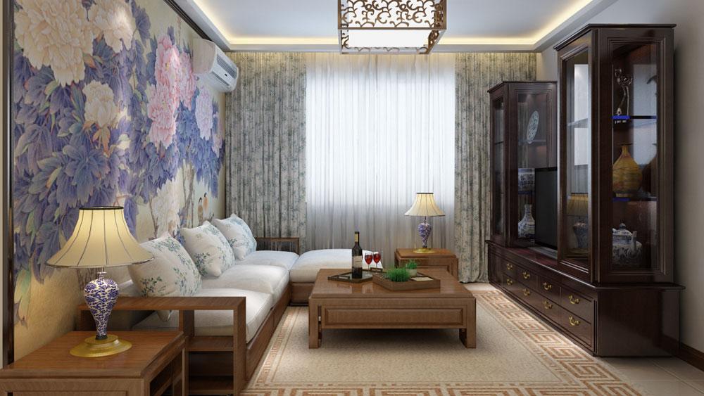 简约中式 三居室 丽泽景园 高度国际 装修设计 客厅图片来自高度国际装饰宋增会在丽泽景园 三居室 简约中式的分享