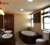 名雕丹迪别墅设计-星河丹堤别墅——美式卫生间