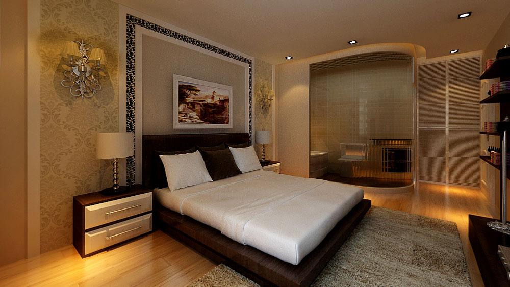 简欧风格 三居室 城区花园 高度国际 装修设计 卧室图片来自高度国际装饰宋增会在城区花园 三居室 简欧风格的分享
