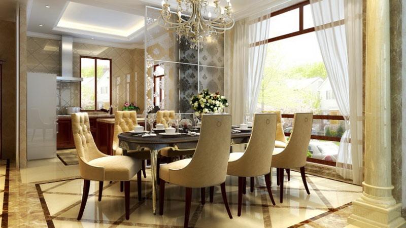 欧式田园 孔雀城 别墅 高度国际 装修设计 餐厅图片来自高度国际装饰宋增会在孔雀城 别墅 欧式田园风格的分享
