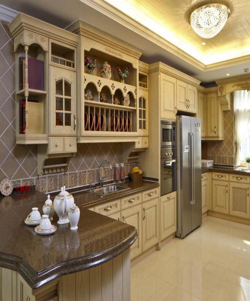 别墅装修 别墅设计 别墅公司 厨房图片来自天津别墅装修在大地十二城的分享