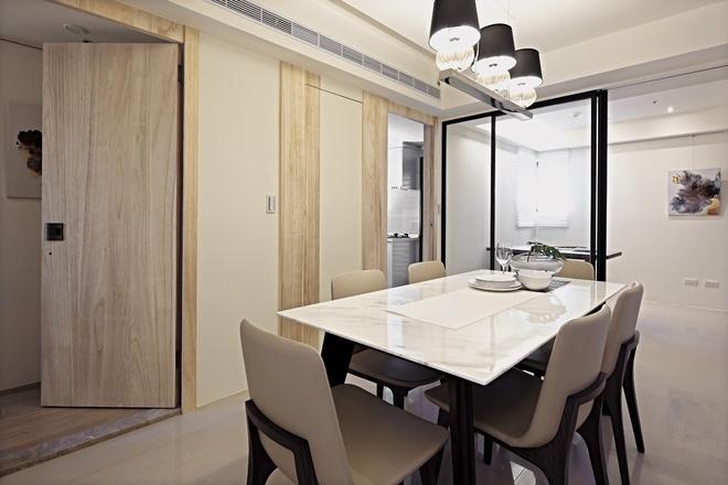 餐厅图片来自家装大管家在自然朴实 98平现代简洁舒适之家的分享