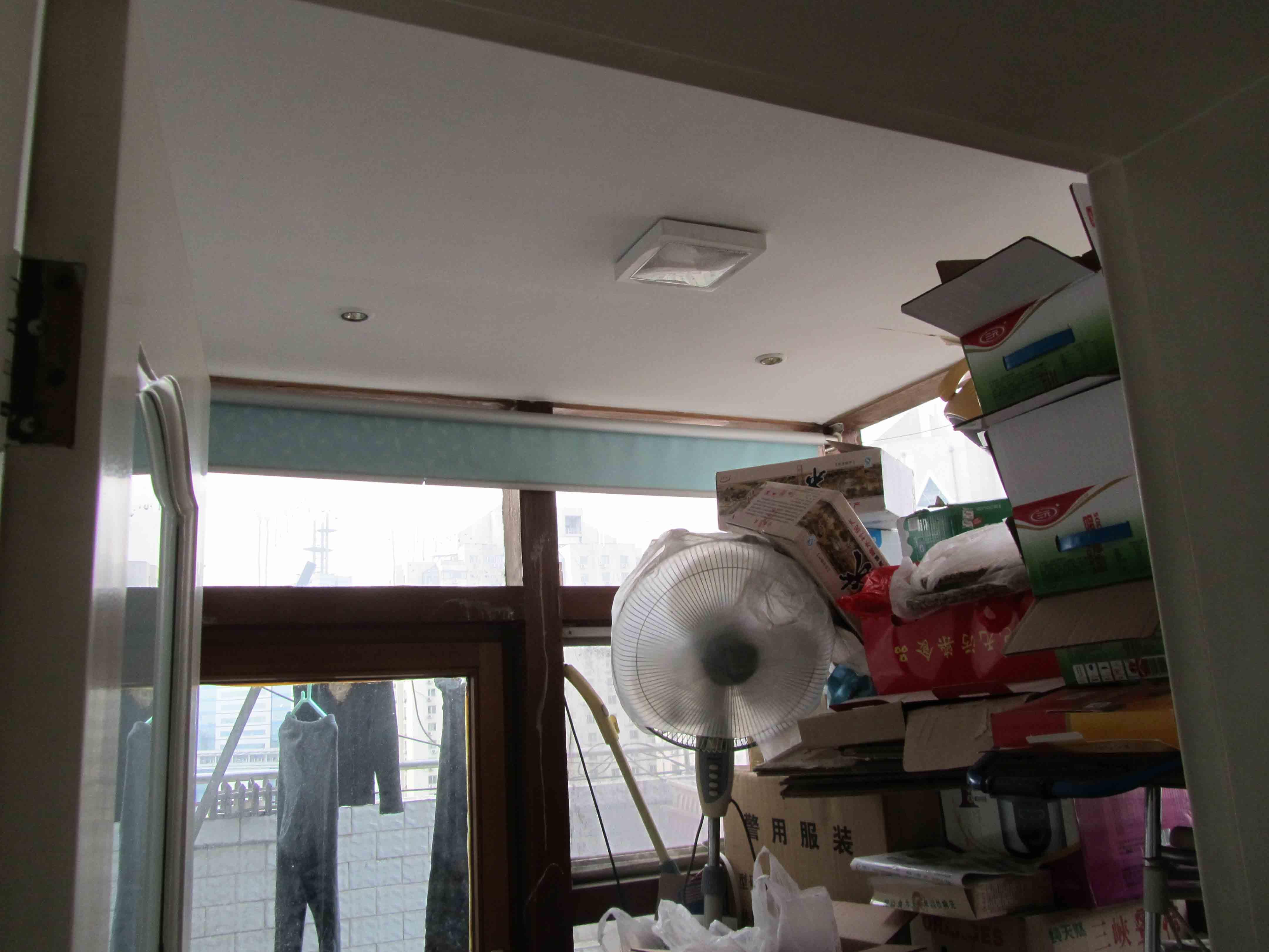 二居 旧房改造 收纳 客厅图片来自今朝装饰老房专线在72平,现代风,望京老房的分享