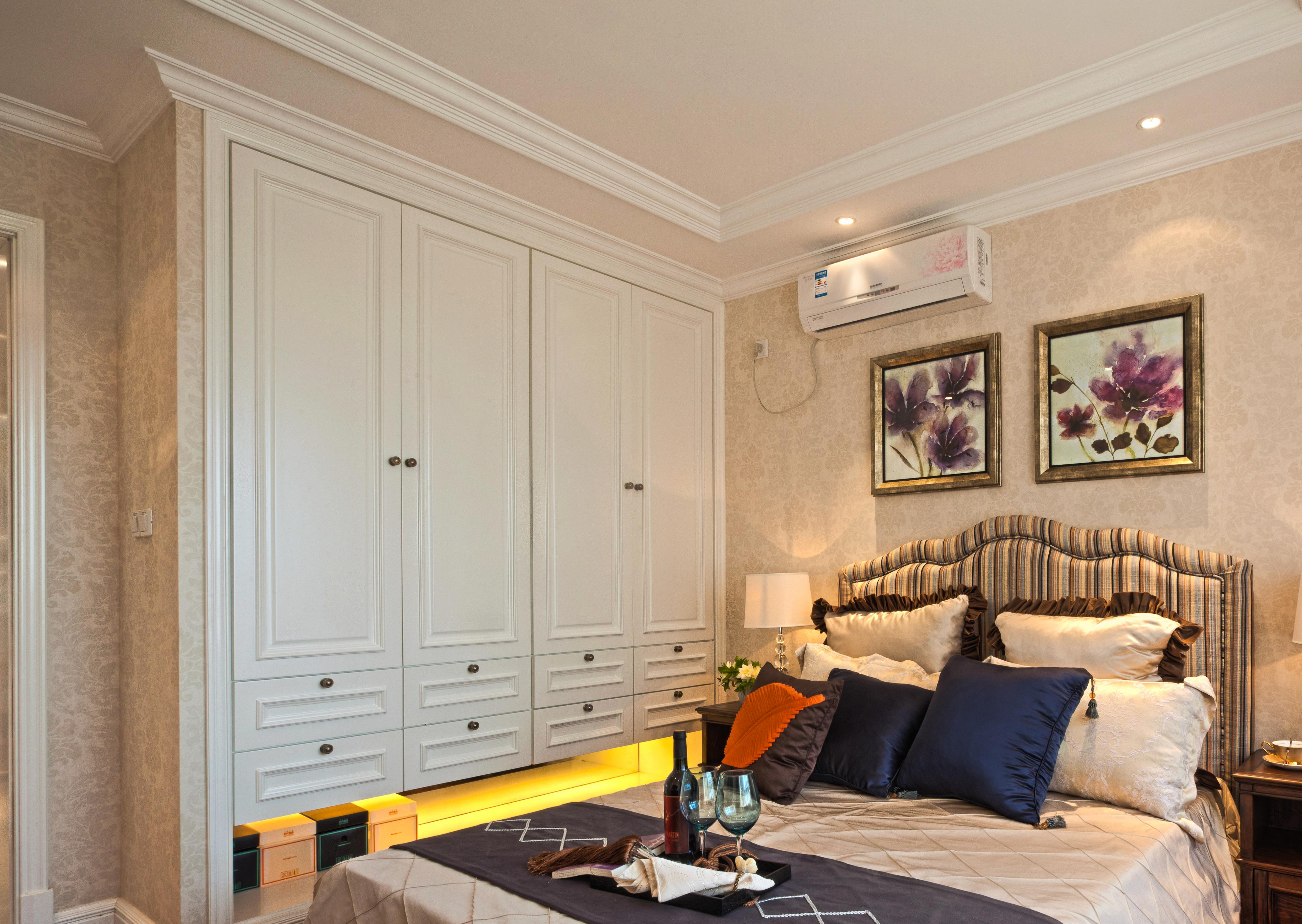 卧室图片来自成都金煌装饰在耐人寻味的港式风格的分享