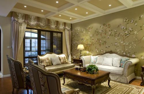 别墅装修 别墅设计 别墅公司 客厅图片来自天津别墅装修在复地温莎堡的分享