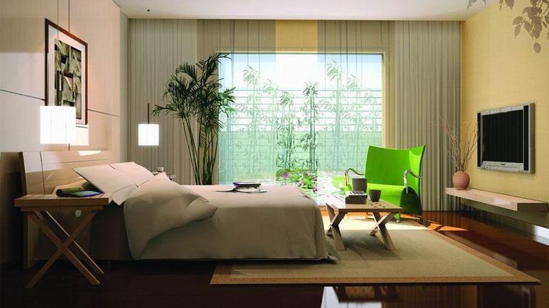 四季香山 三居室 现代简约 高度国际 装修设计 卧室图片来自高度国际装饰宋增会在四季香山 三居室 现代简约的分享