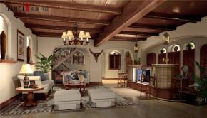美式 美式别墅 星河丹堤 别墅 名雕丹迪 高富帅 豪宅设计 地下室 客厅图片来自名雕丹迪在美式风格星河丹堤别墅的分享
