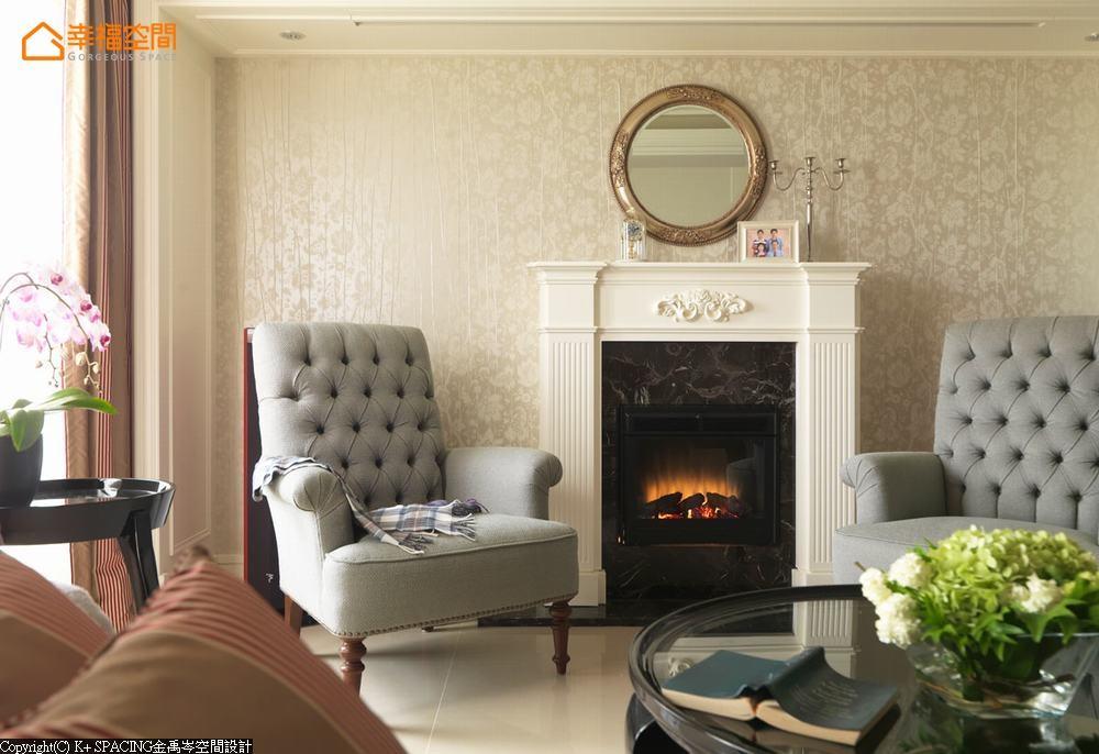 古典 简约 三居 客厅图片来自幸福空间在清新律动 交织132平美妙乐章的分享