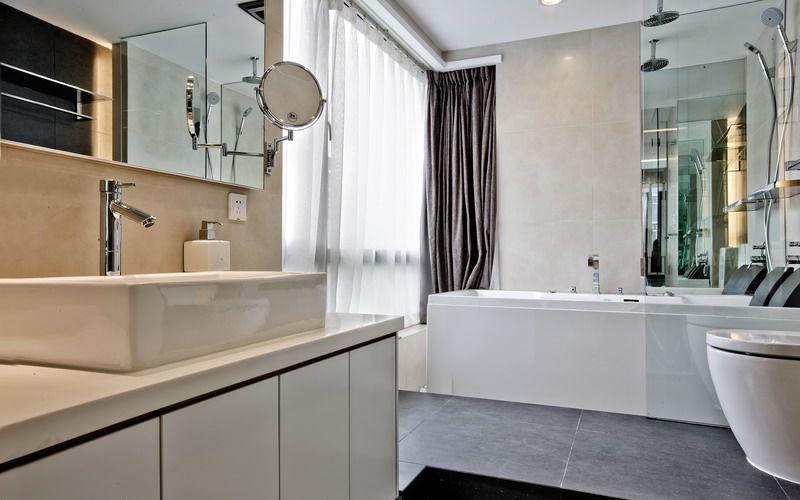 简约 二居 白领 收纳 旧房改造 80后 小资 卫生间图片来自名仕装饰-小飞在统建天成美雅现代简约的分享