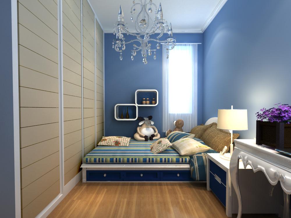 卧室图片来自今朝装饰老房专线在118平,轻工,地中海风格的分享