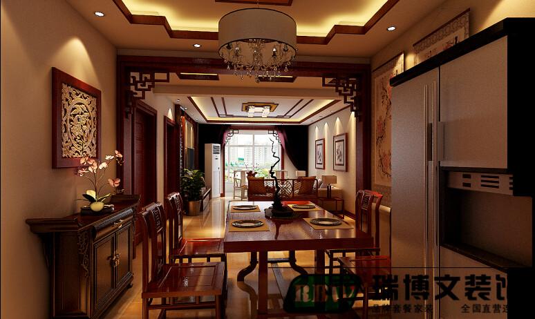 石家庄 瑞博文装饰 香格里 中式 三居 白领 餐厅图片来自石家庄瑞博文装饰---伊然在石家庄瑞博文,香格里三室中国风的分享