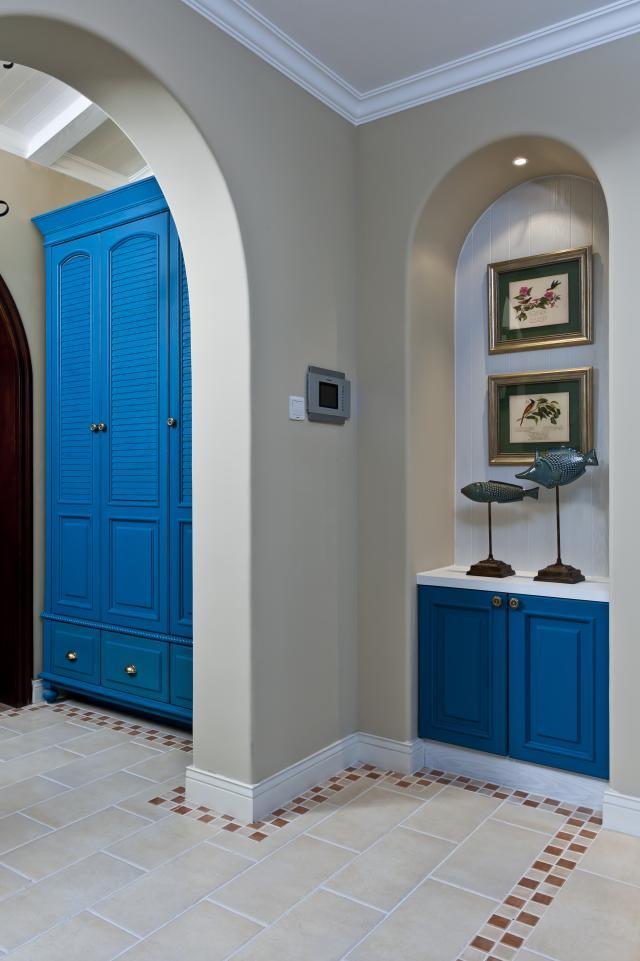 别墅公司 别墅设计 别墅装修 玄关图片来自天津别墅装修在花样年华郡的分享