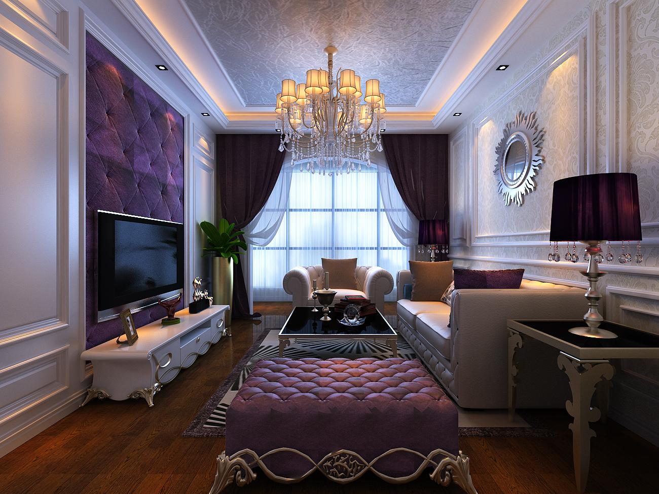 客厅图片来自郑州宏喆装饰在雅宝东方国际广场的分享