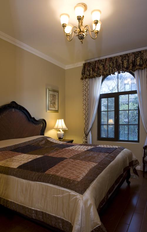 别墅装修 别墅设计 别墅公司 卧室图片来自天津别墅装修在复地温莎堡的分享