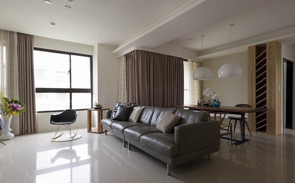 客厅图片来自名仕装饰龚经理在赛达国际120平的分享