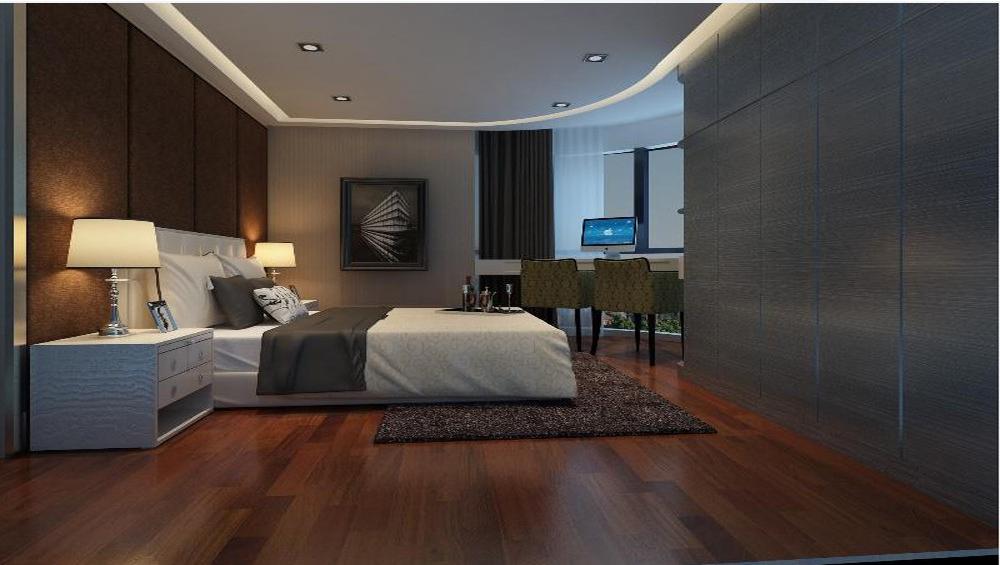 卧室图片来自深圳市浩天装饰在观景台的分享