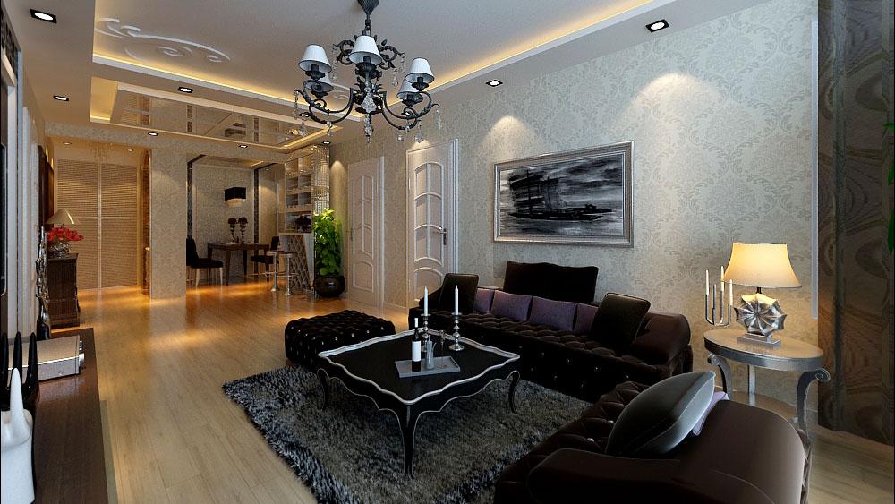 简欧风格 三居室 城区花园 高度国际 装修设计 客厅图片来自高度国际装饰宋增会在城区花园 三居室 简欧风格的分享