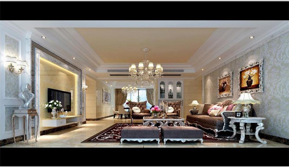 客厅图片来自深圳市浩天装饰在苹果园的分享
