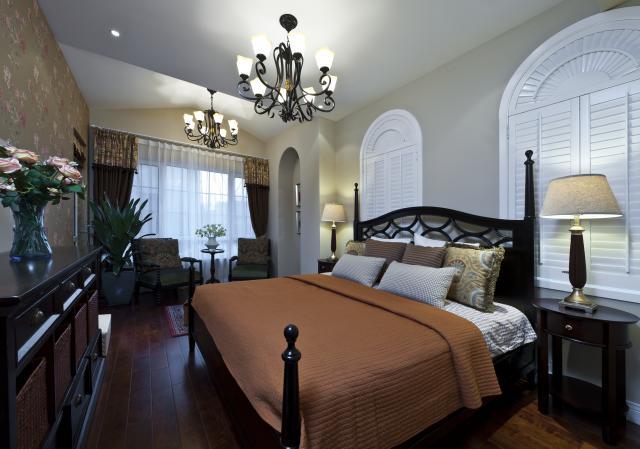 别墅装修 别墅设计 别墅公司 卧室图片来自天津别墅装修在花样年华郡的分享