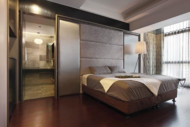 卧室图片来自家装大管家在活化空间 87平别样简约之家的分享