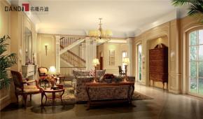 美式 美式别墅 星河丹堤 别墅 名雕丹迪 高富帅 豪宅设计 客厅 美式客厅 客厅图片来自名雕丹迪在美式风格星河丹堤别墅的分享