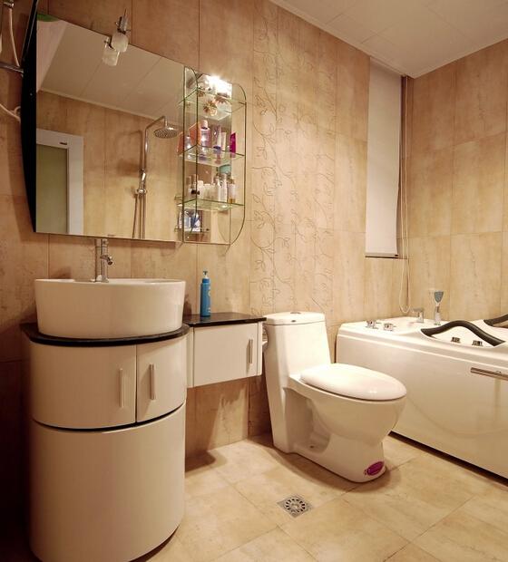 卫生间图片来自佰辰生活装饰在10打造120平清新田园三居的分享