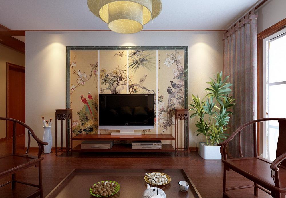 中式风格 长沙路小区 别墅 高度国际 装修设计 客厅图片来自高度国际装饰宋增会在长沙路小区 别墅 中式风格的分享